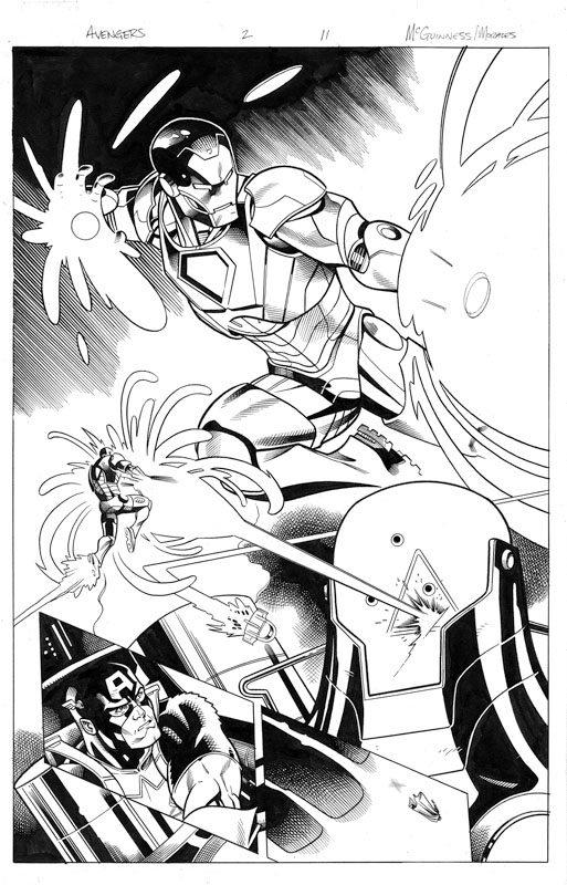 Avengers # 2 pg11