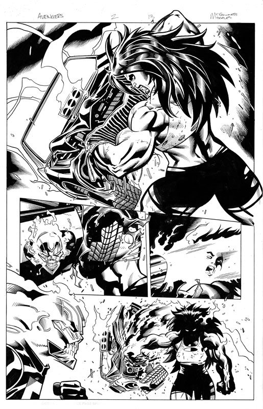 Avengers # 2 pg13