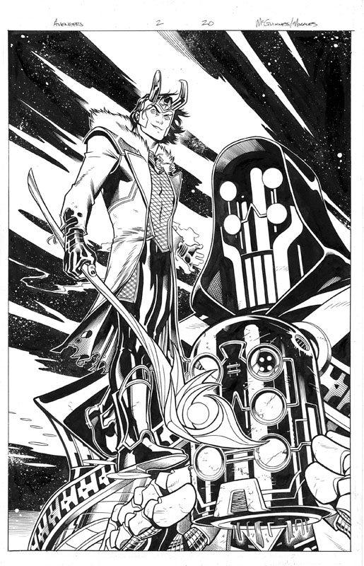 Avengers # 2 pg20