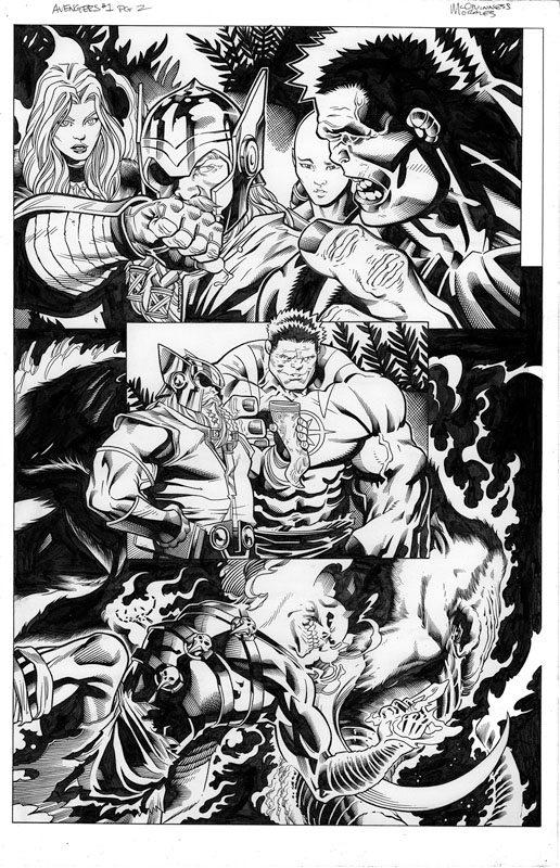 Avengers # 1 pg 2