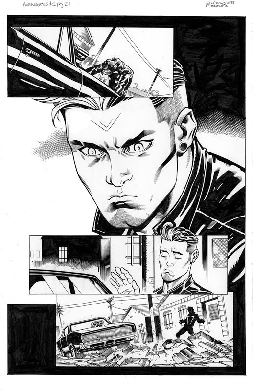 Avengers # 1 pg21
