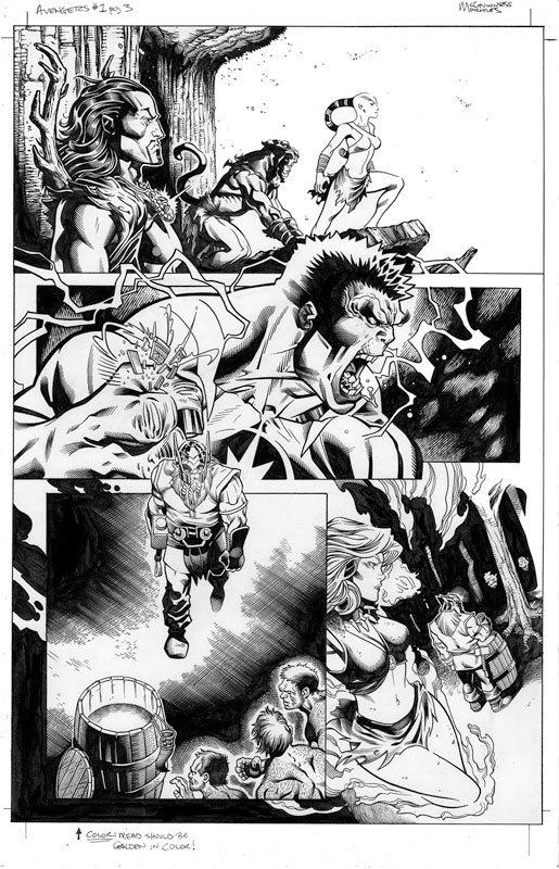 Avengers # 1 pg 3