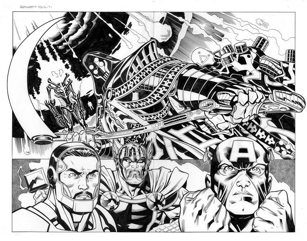 Avengers # 1 pg30 & 31