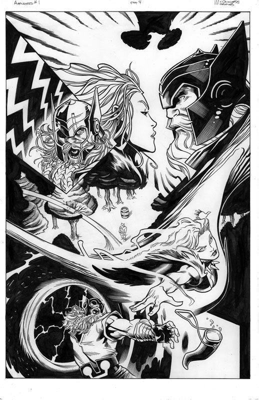 Avengers # 1 pg 4