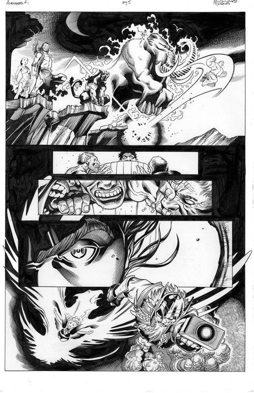 Avengers # 1 pg 5