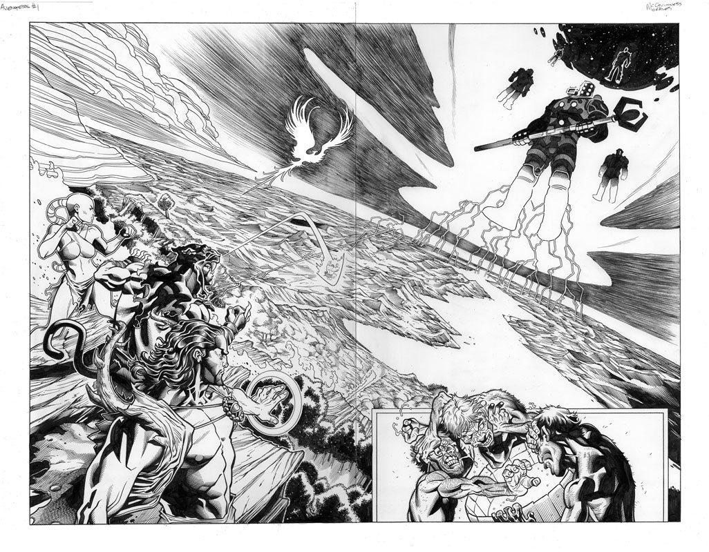 Avengers # 1 pg 6&7