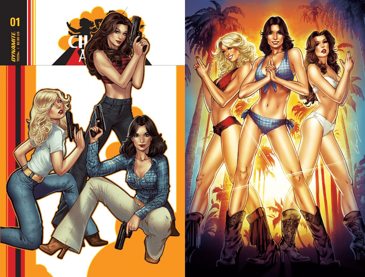 Charlie\'s Angels #1 Cover A & B Set