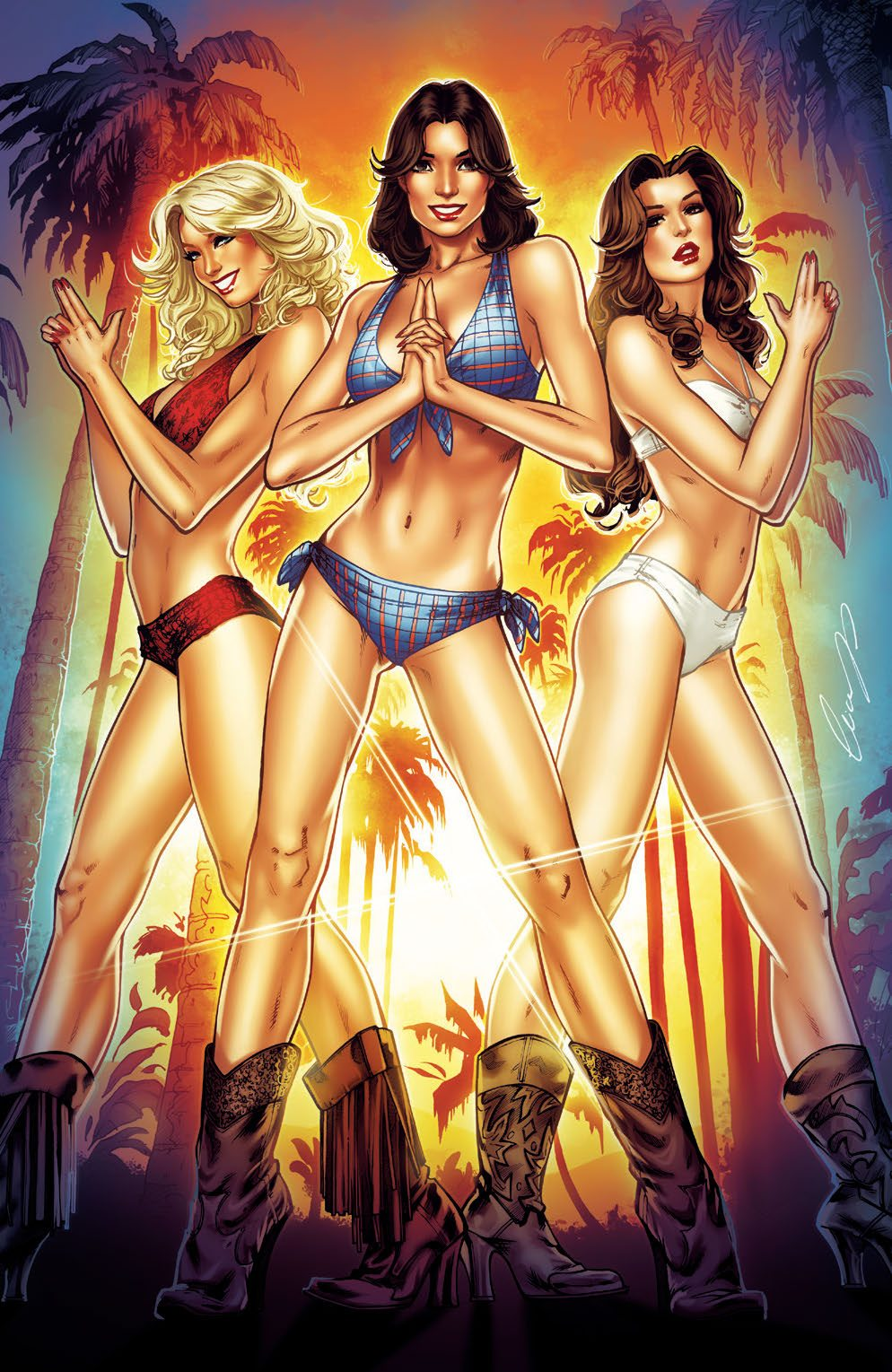 Charlie's Angels #1 Cover B Virgin