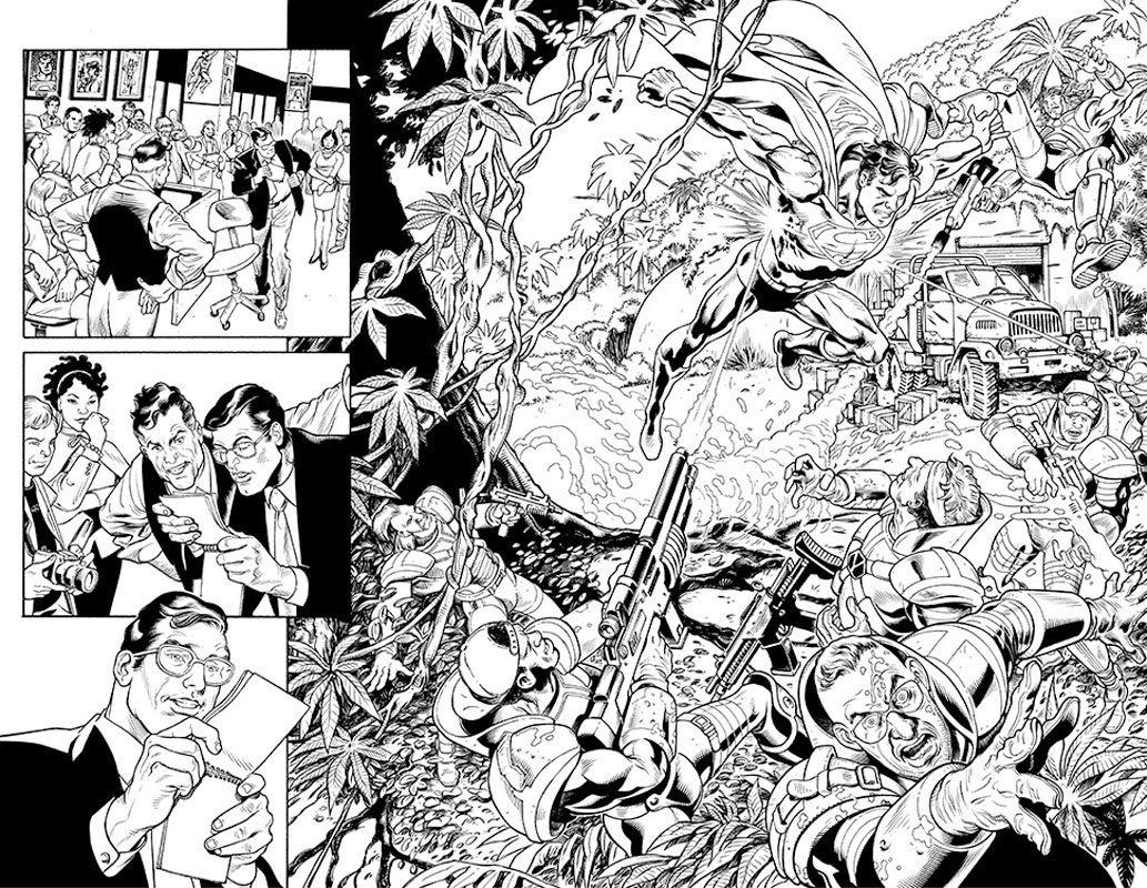 DC Nation # 0 pg 2&3
