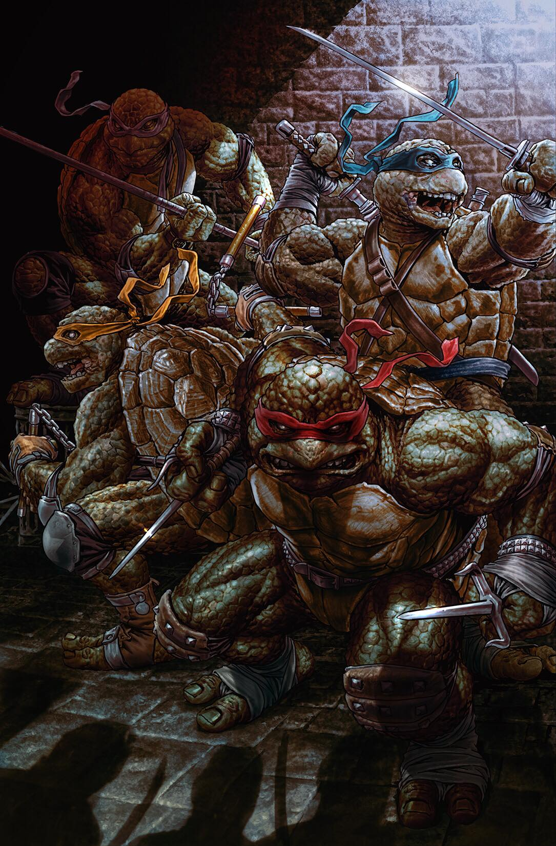 TMNT #84 Virgin Cover LTD 1000