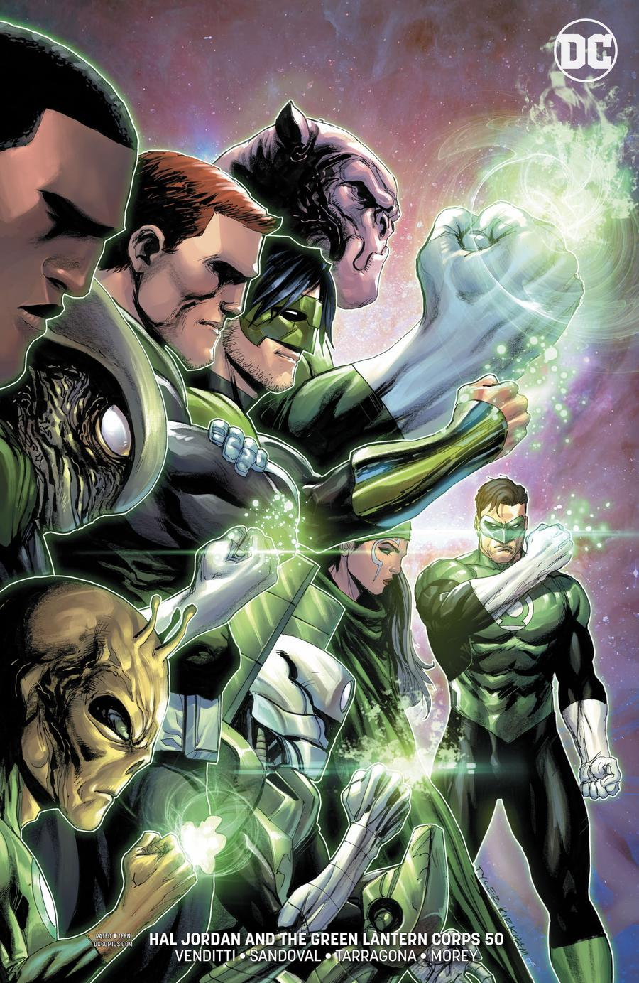 Hal Jordan & the Green Lantern Corps #50