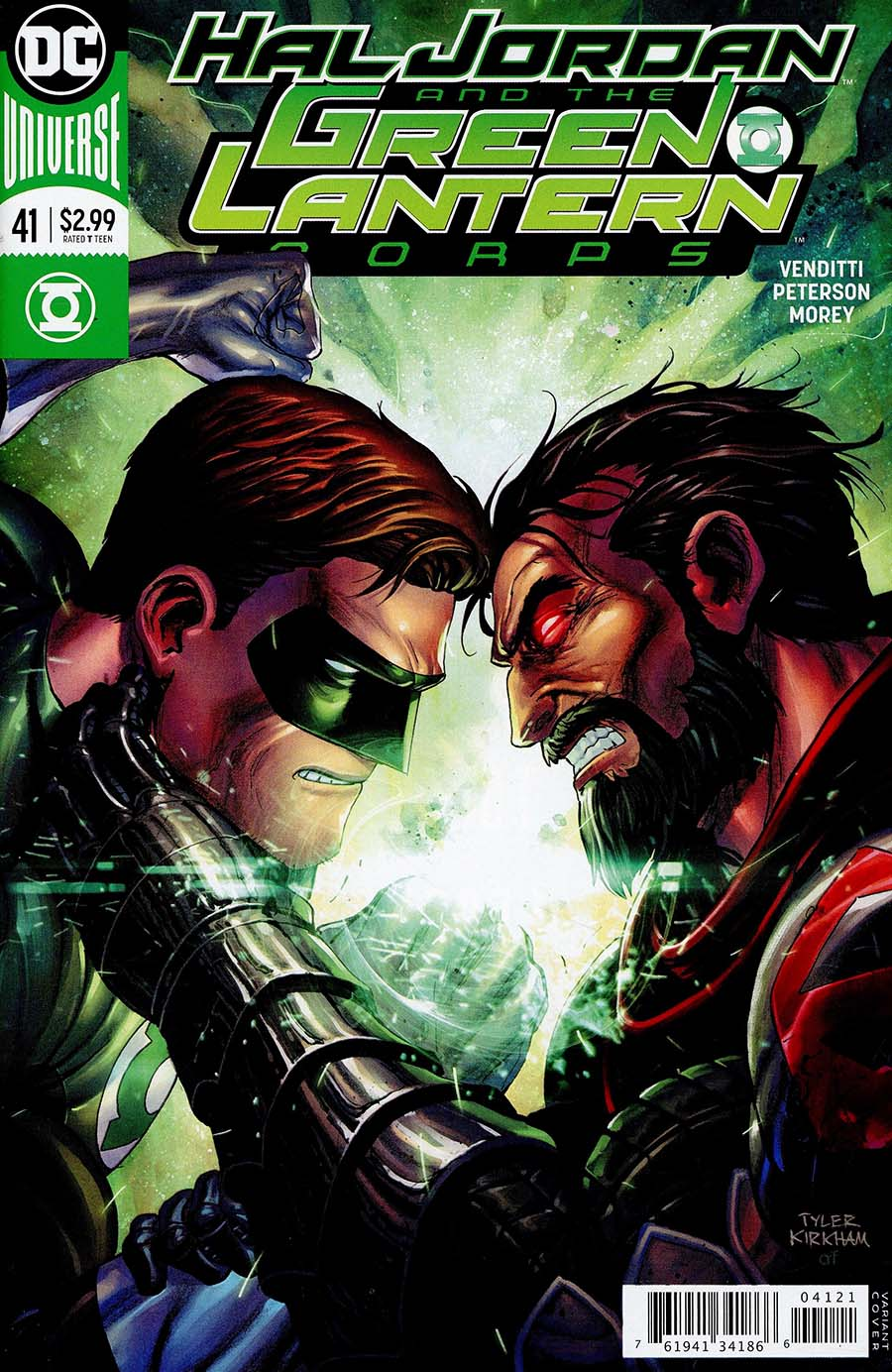 Hal Jordan & the Green Lantern Corps #41