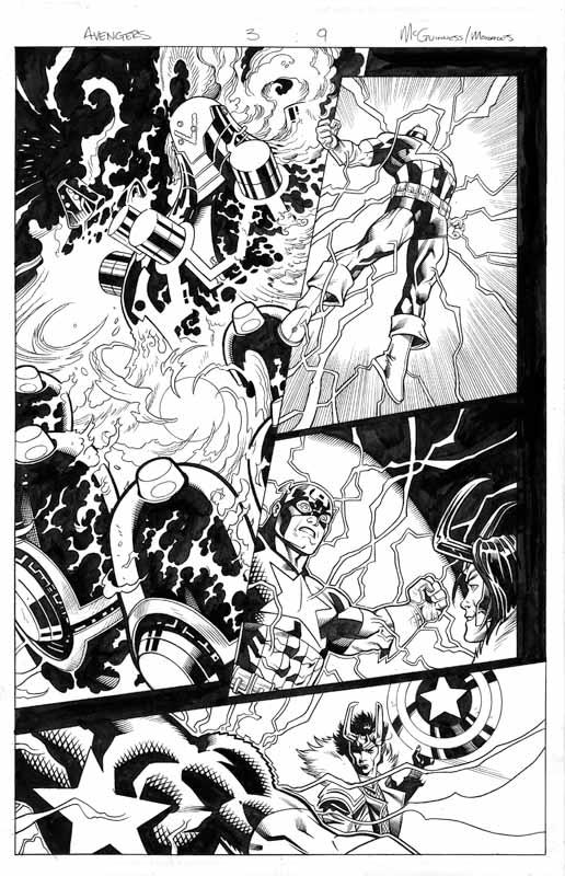 Avengers # 3 pg 9