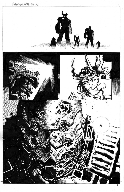 Avengers # 4 pg10