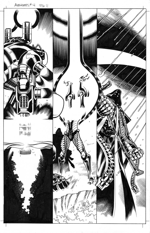 Avengers # 4 pg11