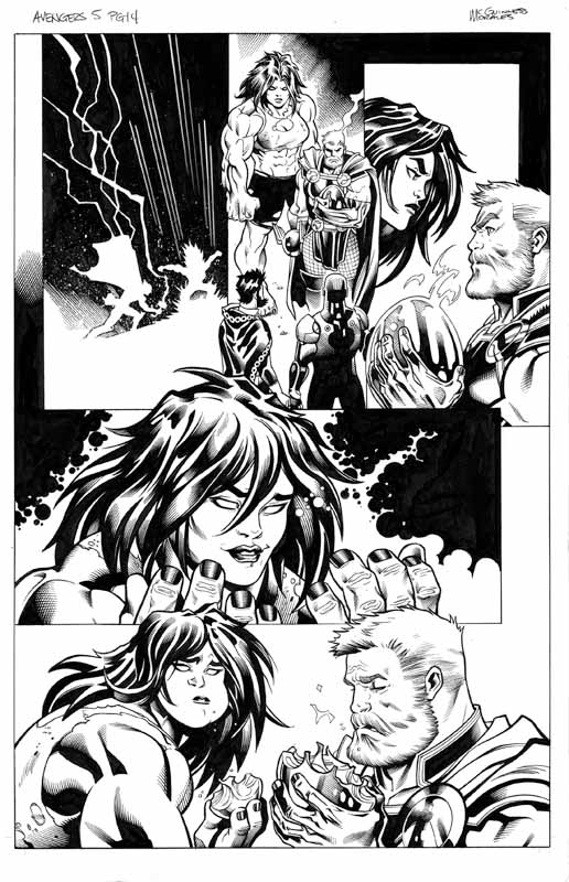 Avengers # 5 pg 14