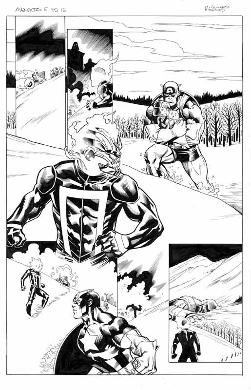 Avengers # 5 pg 16