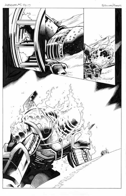 Avengers # 5 pg 17
