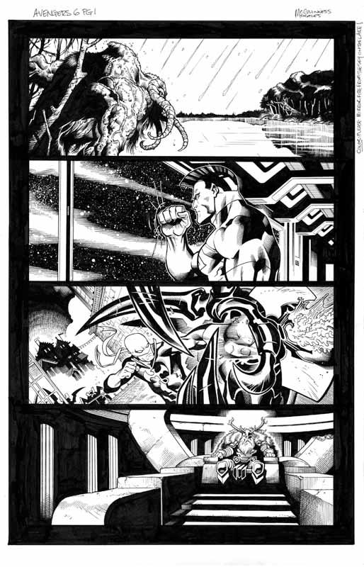 Avengers # 6 pg 1