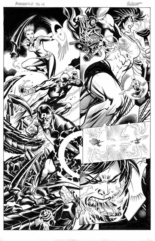 Avengers # 6 pg 4