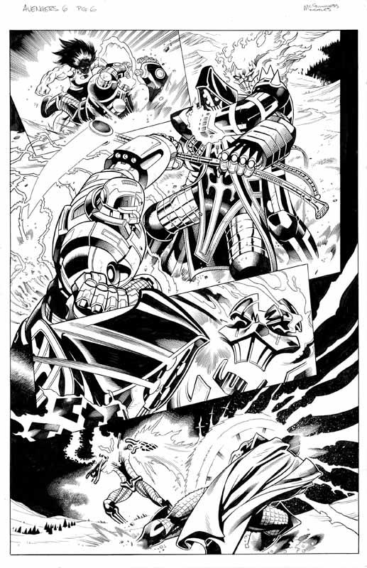 Avengers # 6 pg 6