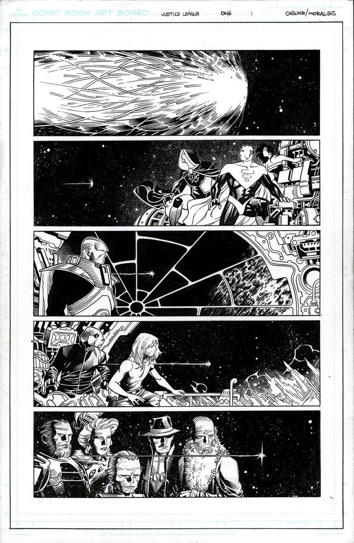 Justice League # 1 pg 1