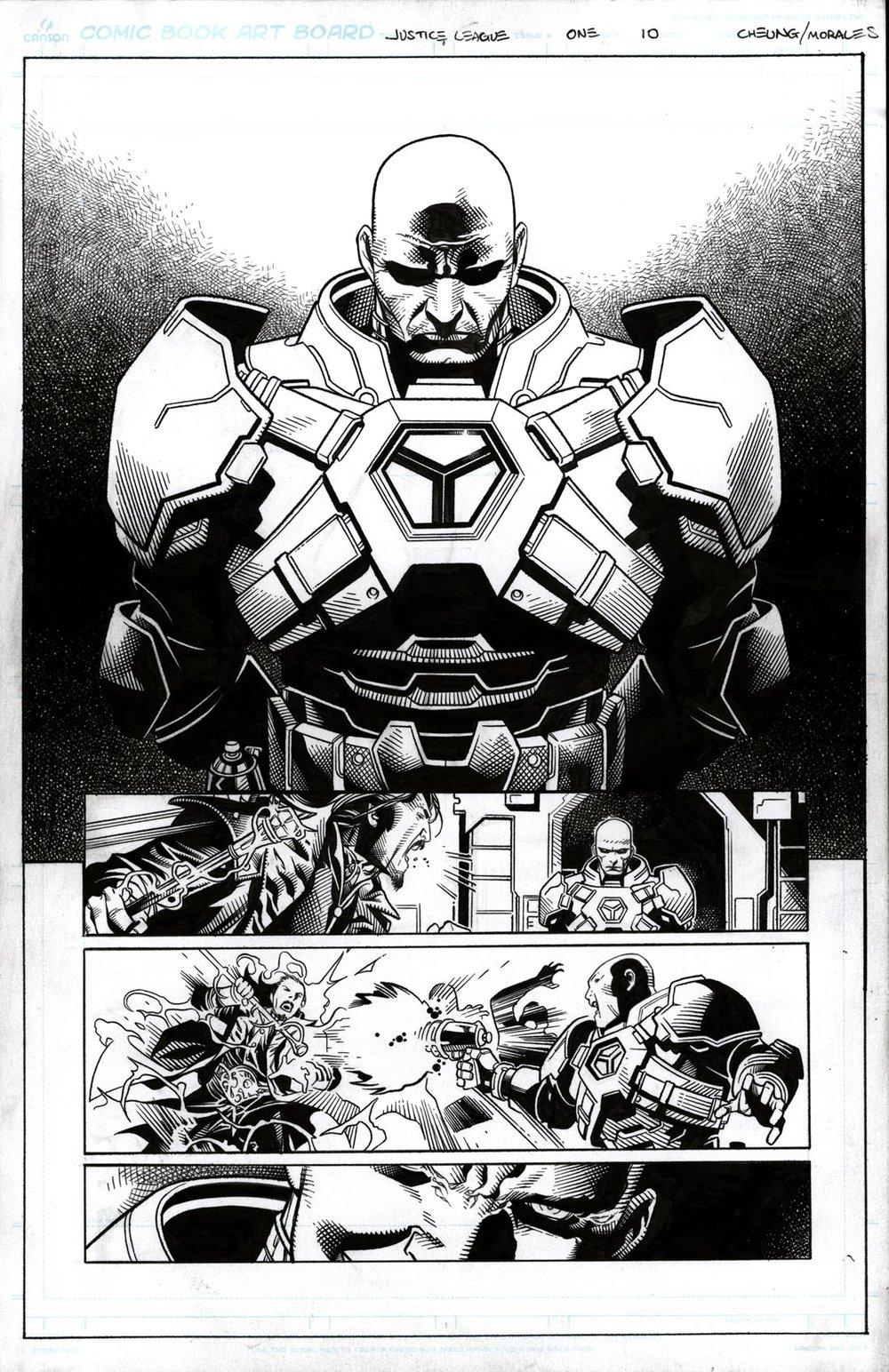 Justice League # 1 pg10