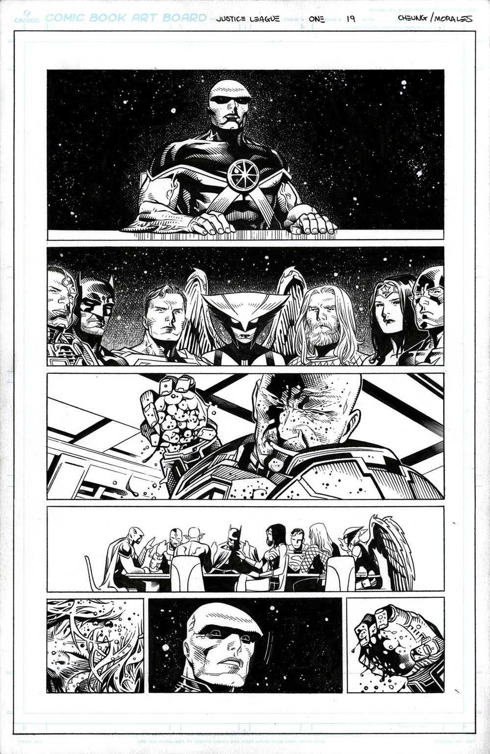 Justice League # 1 pg19