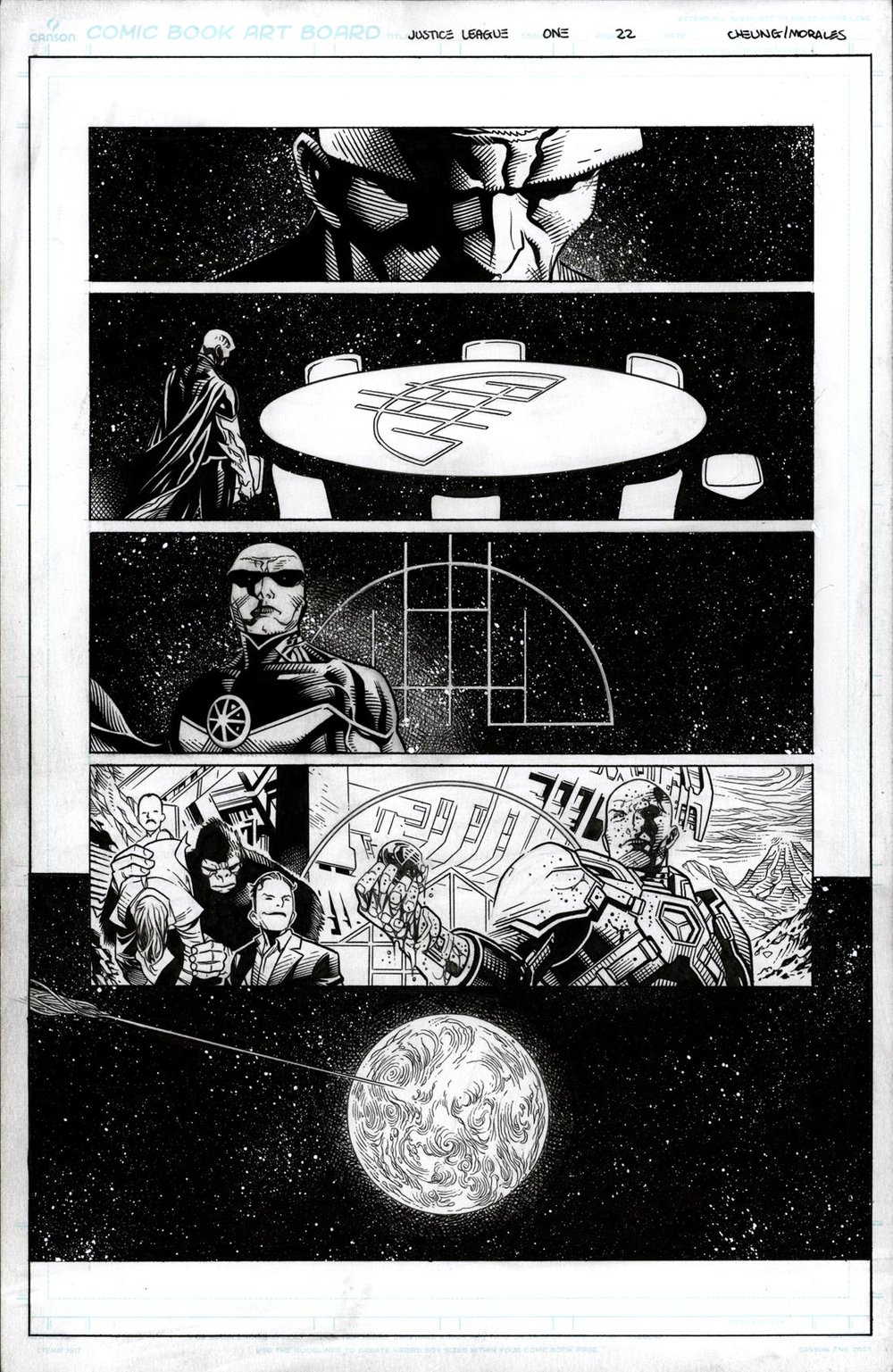 Justice League # 1 pg22