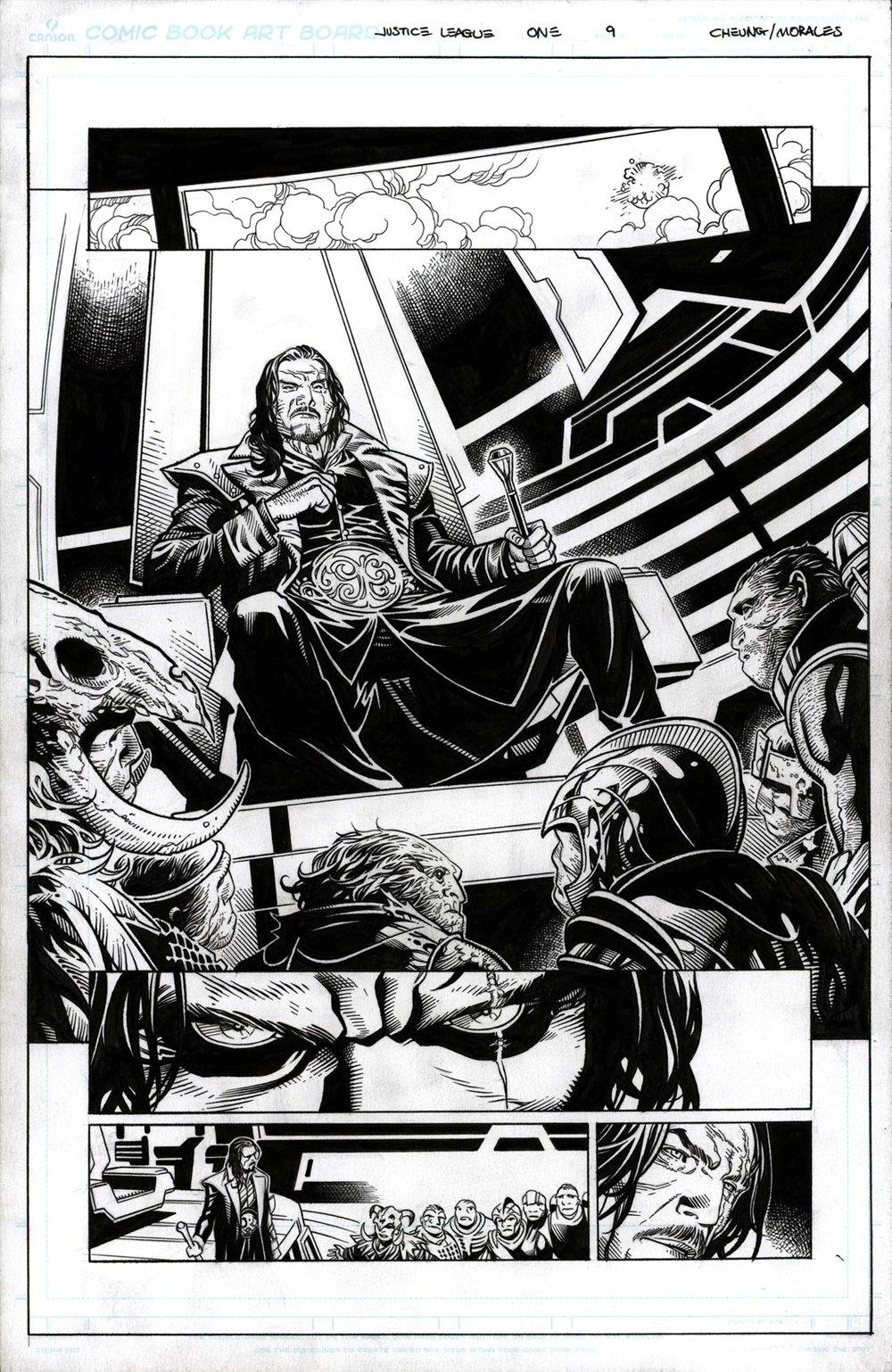 Justice League # 1 pg 9