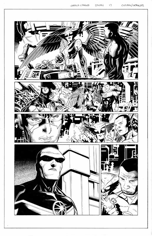 Justice League # 7 pg17