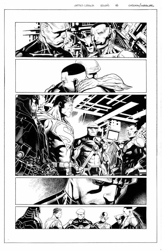 Justice League # 7 pg18
