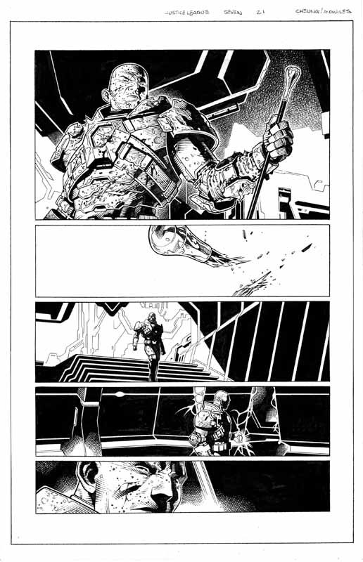 Justice League # 7 pg21