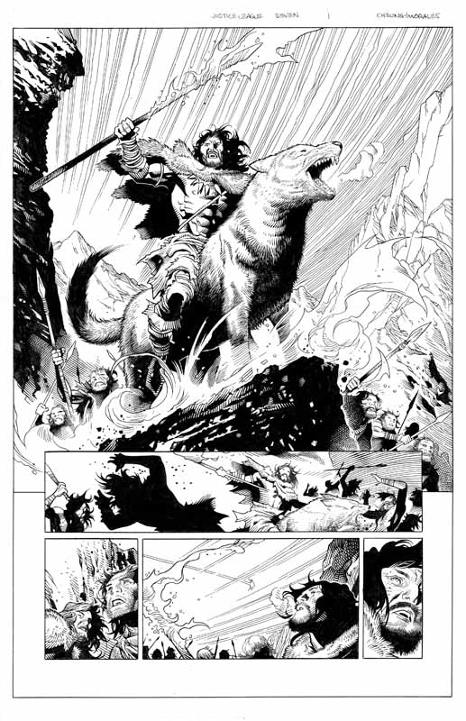 Justice League # 7 pg 1