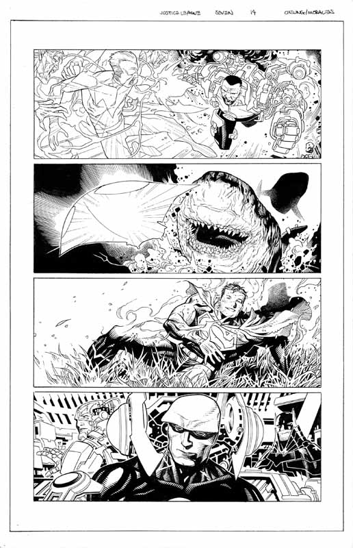 Justice League # 7 pg14