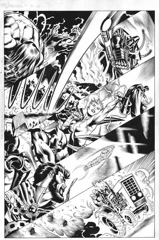 Avengers # 5 pg 15