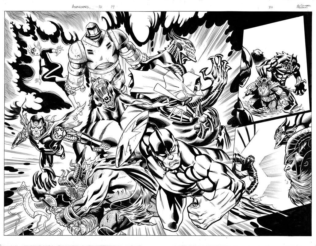 Avengers #10 pg19 & 20