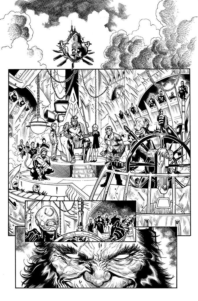 Extermination # 4 pg 1