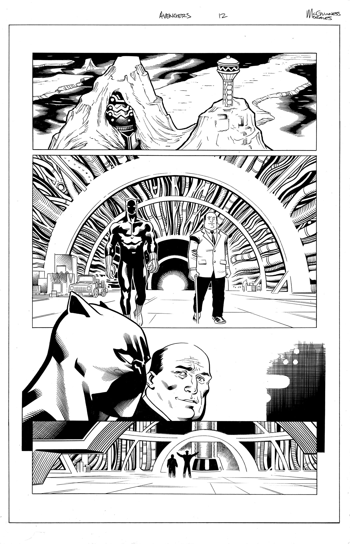 Avengers #12 pg 1