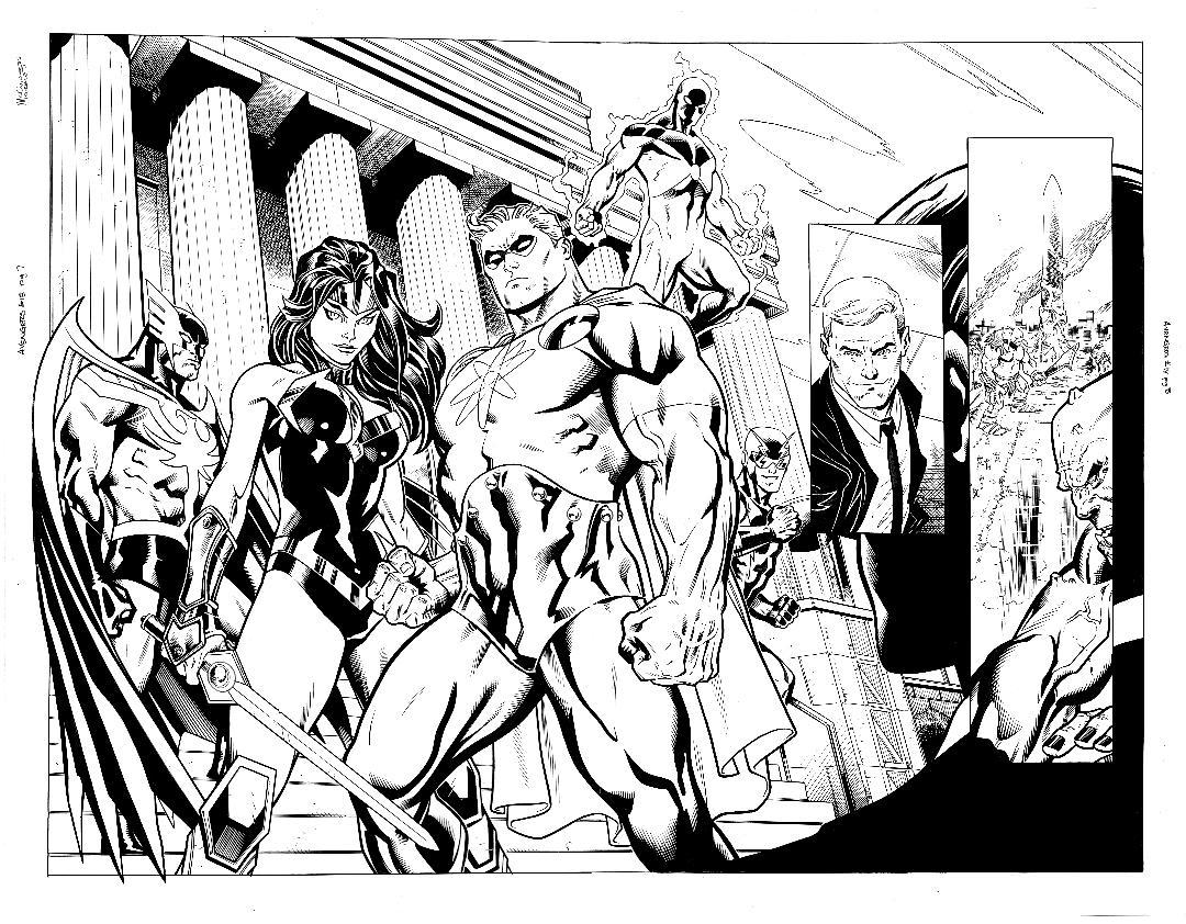 Avengers #18 pg 7 & 8