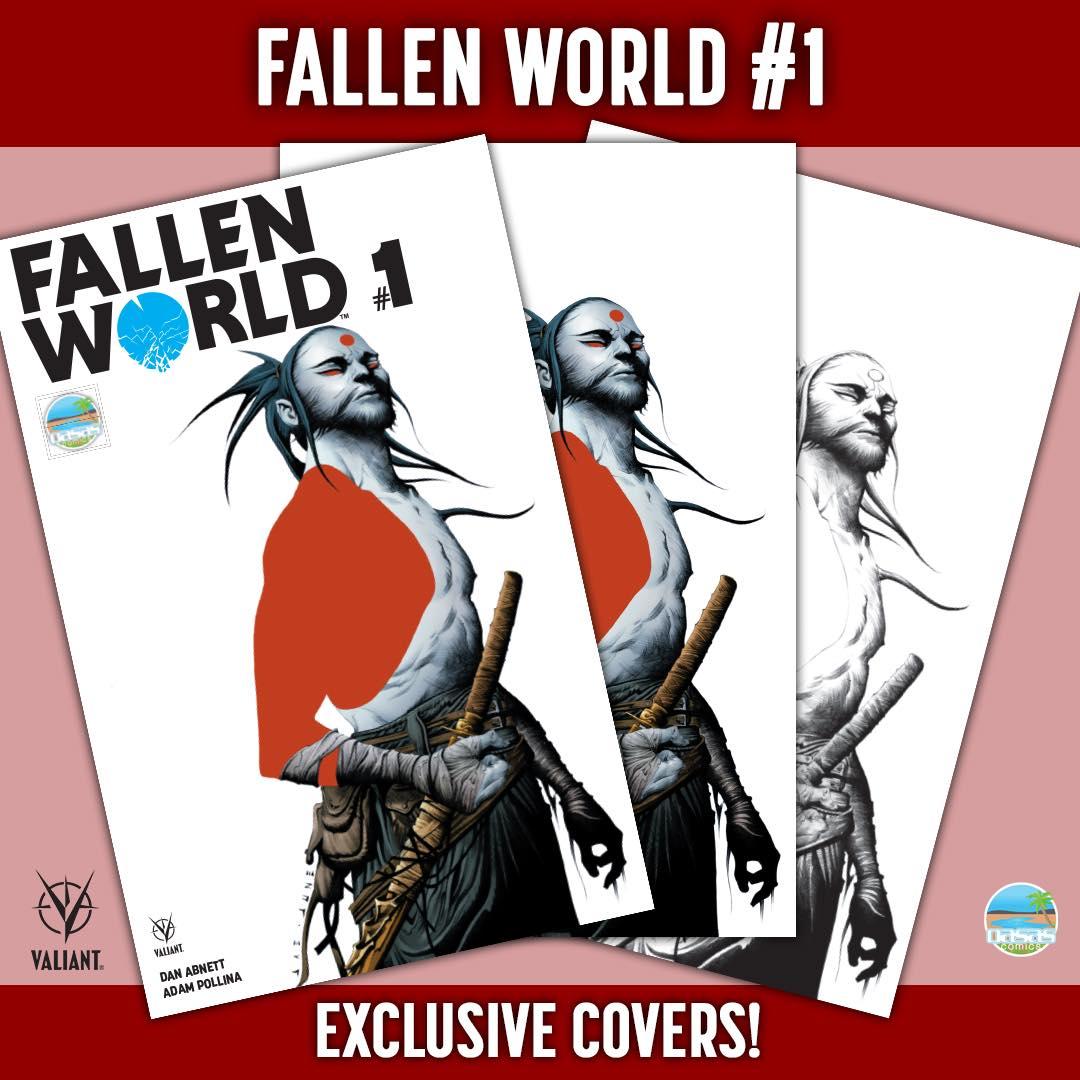 Fallen World # 1 set