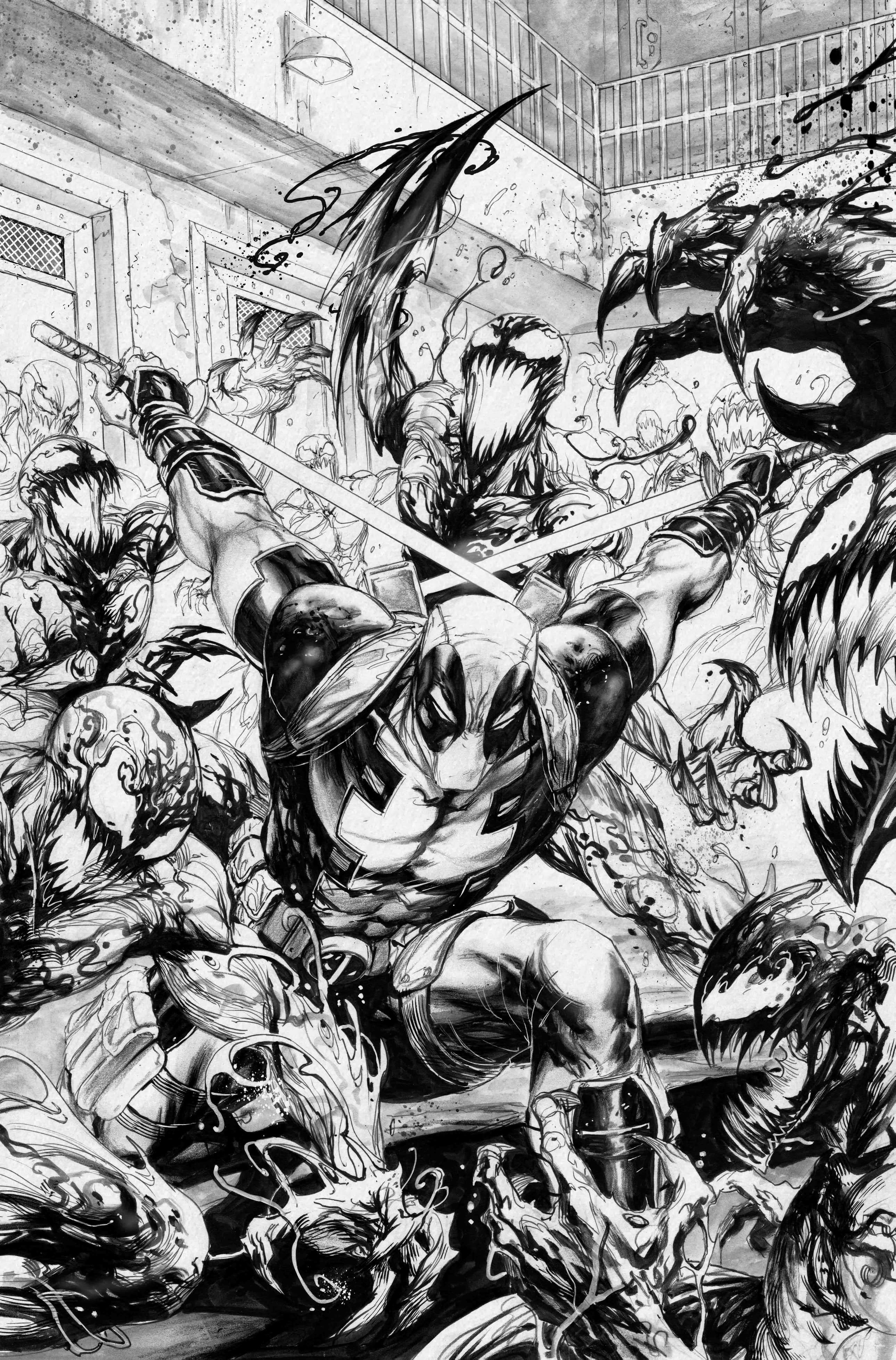 Absolute Carnage #1 Deadpool vs. Carnage