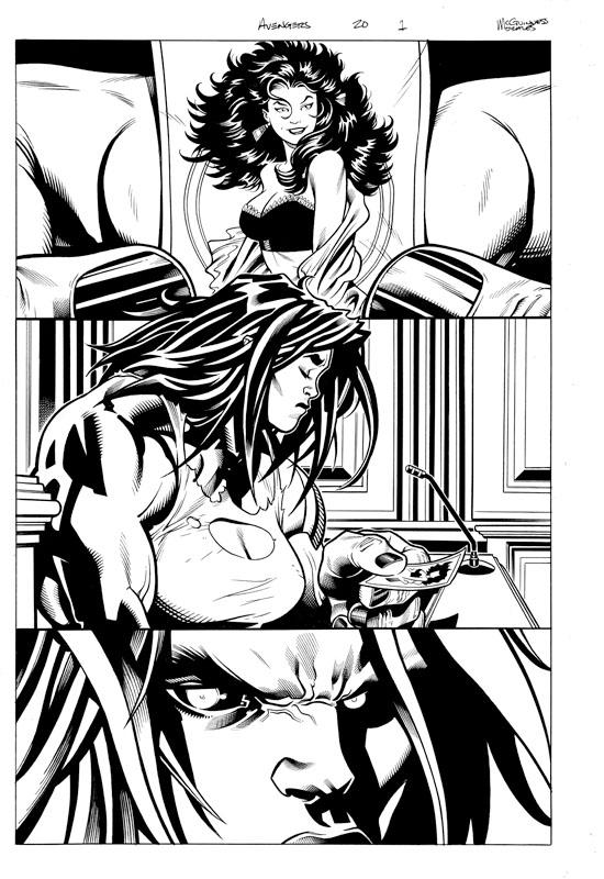 Avengers #20 pg 1