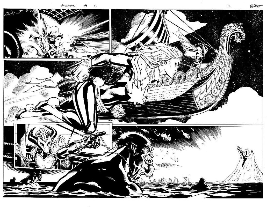 Avengers #19 pg11 & 12