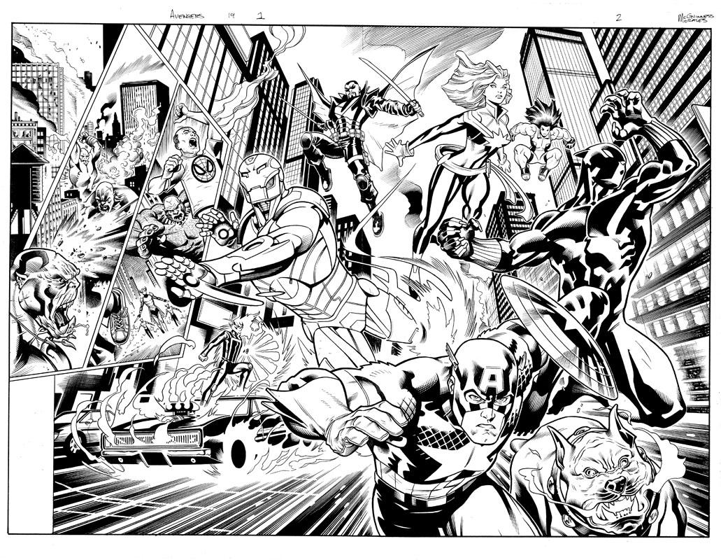 Avengers #19 pg 1 & 2