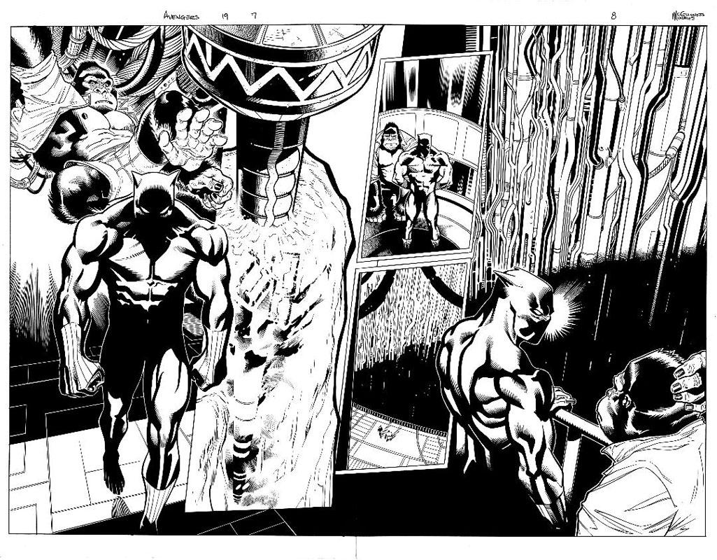 Avengers #19 pg 7 & 8