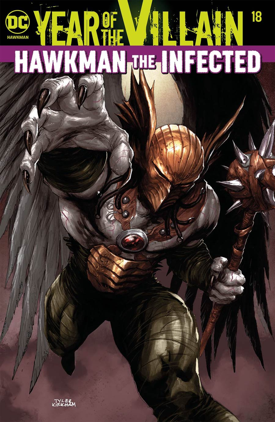 Hawkman: Year of the Villan #18 Cover A