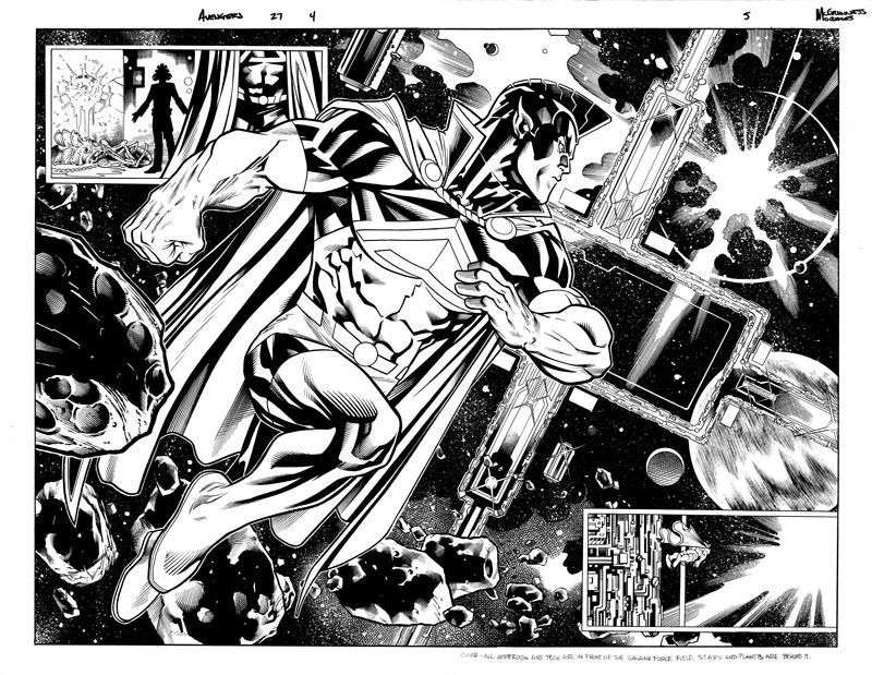 Avengers #27 pg 4&5