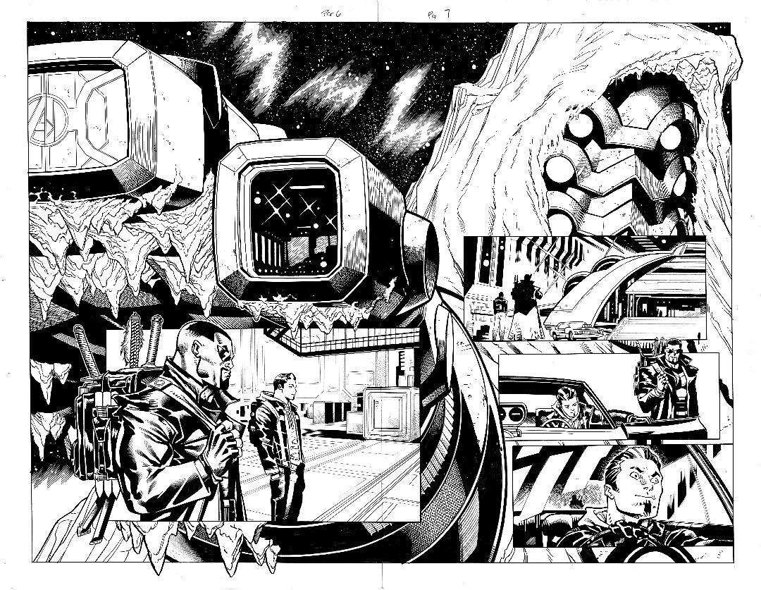 Avengers #27 pg 6 & 7