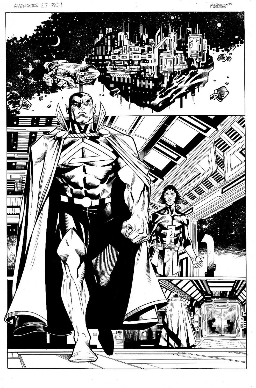 Avengers #27 pg 1